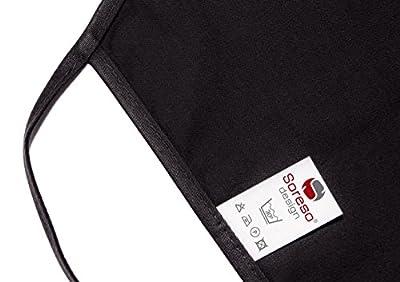 Schürze Kochschürze Grillschürze - Generation Ü30 - Geschenk zum 30. Geburtstag - Farbe: schwarz Geschenkidee für Sie & Ihn Grillfreunde