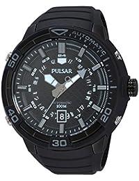 Pulsar Herren-Armbanduhr XL Sport Analog Automatik Edelstahl PU4057X1