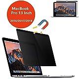 """PaceBid Magnetico Privacy Filtro, Antiriflesso e Facile da Facile da Smontare Filtro, Pellicola Protettiva Privacy per Apple MacBook PRO 13""""(2016-2018)"""