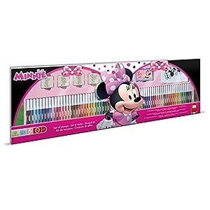 MULTIPRINT Minnie - Juegos de Sellos para niños, Caucho, Madera, 3 año(s), Italia, 860 mm, 30 mm
