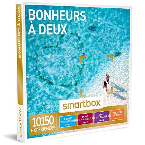 SMARTBOX - Coffret Cadeau couple - Bonheurs à deux - idée cadeau - 10150...