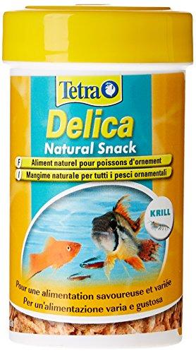 Tetra Mangime per Pesci Delica Krill Liofilizzati Ml. 100 Articoli per Animali, Multicolore, Unica