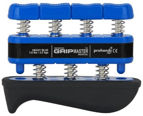 prohands by Gripmaster medical - Aparato entrenador de dedos, color azul, resistencia 7 lbs