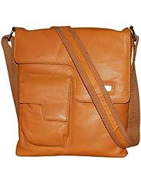 Kan 100% Genuine Leather Crossbody Sling Bag||Messenger Bag||Handbag||Hard Disk Bag||Neck Pouch||Shoulder Bag... - B06ZXT38ZS