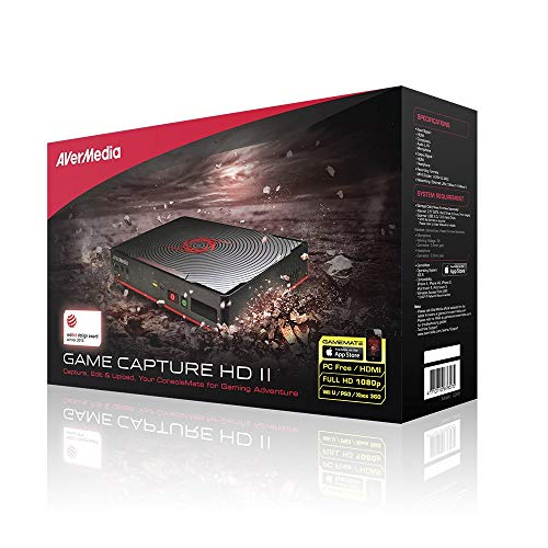 AVerMedia Game Capture II (C285) - Registra, commenta, modifica e condividi la console di gioco senza un PC HD 1080p - Compatibile con XBOX ONE & PS4