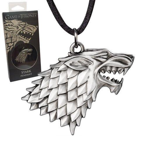 Game of Thrones Halskette Logo Stark