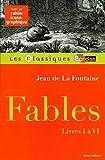 Classiques Bordas • La Fontaine • Fables (I à VI)