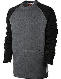 Sudadera Nike – Sportswear Tech Fleece gris/negro talla: S (Small)