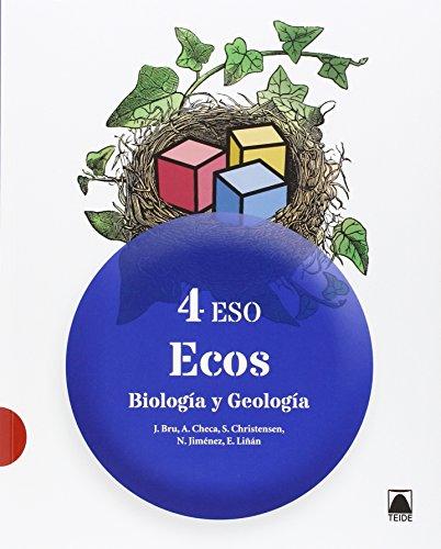 Biología y Geología 4 - Ecos - ed. 2016 - 9788430791866