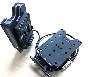 Gowe Support Batterie Alimentation pour hyperdeck navette SSD Champ
