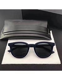 Lunettes de soleil de mode unisexe pour la conduite de pêche Ski de plein air pour les femmes et les hommes New Vintage Round Eyeglass Frame Glasses for KCHLOE CE2126 Eyeglasses Clear Lens Sunglasses-black