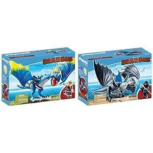 PLAYMOBIL 9247 – DreamWorks Dragons, Astrid und Sturmpfeil, Ab 4 Jahren
