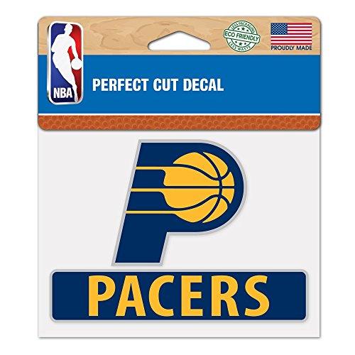 Wincraft Snack-Schale NBA Indiana Pacers wcr43351014Perfekten Schnitt Farbe Aufkleber, 11,4x 14,6cm
