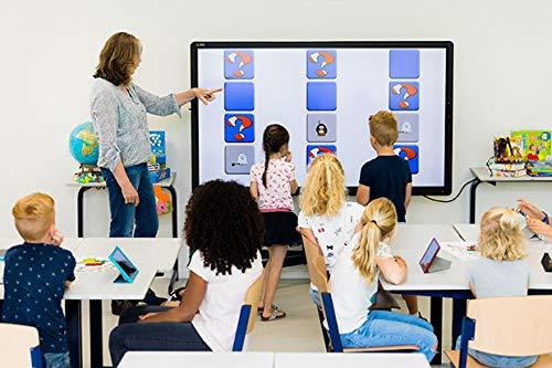CTOUCH Laser Sky Touchscreen-Monitor 139,7 cm (55 Zoll) 3840 x 2160 Pixel Schwarz Multi-Touch Multi-Nutzer - Touchscreen-Monitore (139,7 cm (55 Zoll), LCD/TFT, 1200:1, 3840 x 2160 Pixel, 60 Hz, 16:9) (Screen Touch 55 Monitor)