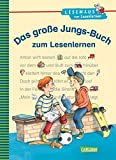LESEMAUS zum Lesenlernen Sammelbände: Das große Jungs-Buch zum Lesenlernen: Einfache