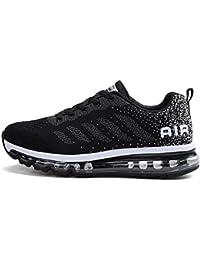 tqgold® Unisex Uomo Donna Scarpe da Ginnastica Corsa Sportive Fitness Running Sneakers Basse Interior Casual all'Aperto