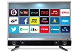 Ferguson FP32ANSMT 32-Inch Android Smart Full HD TV with Integrated Sound Bar - Black