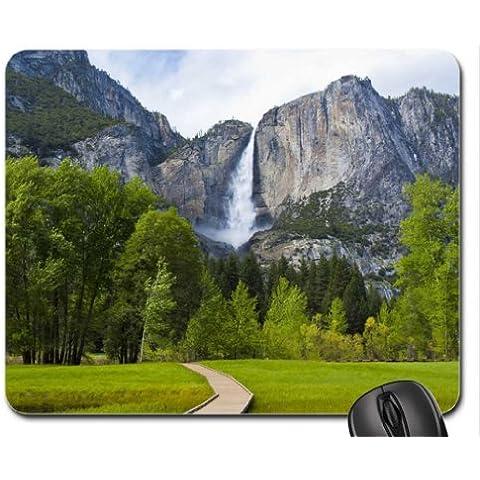 Yosemite Falls cojín de ratón, Mousepad (cataratas cojín de ratón)