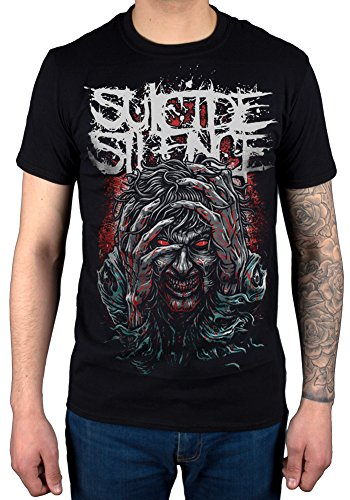 Official Suicide Silence OCD T-Shirt Deathcore Band Music Rock