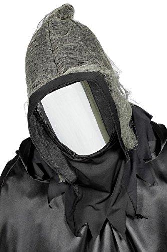 Wilbers Maske Spiegel Spiegelmaske Gesichtslos Halloween Horror zum Kostüm - Spiegel Kostüm