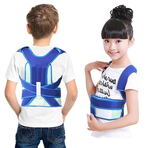 Rückenbandage für Perfekte Haltung zur Haltungskorrektur für Kinder Adjustably Komfortable Effektive Körperhaltung Korrektor(M)