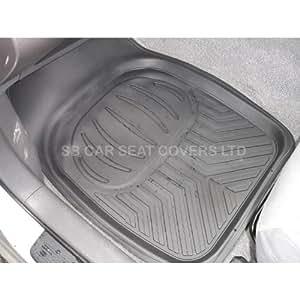 SUBARU BRZ Leurre voiture tapis de sol profond Plateau RM500Noir 4pièces en caoutchouc PVC
