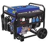 Mecafer - Groupe électrogène à essence 4500W 15L avec kit mobile - MC...