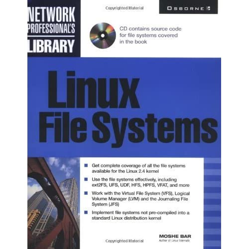 Linux File Systems by Bar, Moshe (2001) Paperback