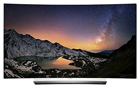 LG OLED55C6D 139 cm (55 Zoll) Curved OLED Fernseher (Ultra HD, Dual Triple Tuner, Smart TV, 3D