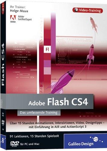 Adobe Flash CS4 - Das umfassende Video-Training auf DVD