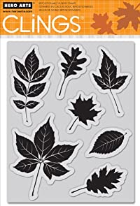 Hero Arts Scattering Leaves Cling Stamps