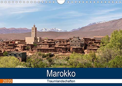 Marokko Traumlandschaften (Wandkalender 2020 DIN A4 quer): Stadt-, Meer-, Berg-, Berberdörfer-Ansichten, abseits der üblichen Touristen-Fotomotive (Monatskalender, 14 Seiten ) (CALVENDO Orte) (Marokko-kalender)