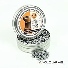 500 Anglo Arms 177 A Cupola 4.5mm Pistola O Fucile Corpo Caccia Di Munizioni Del Fucile Ad Aria Compressa