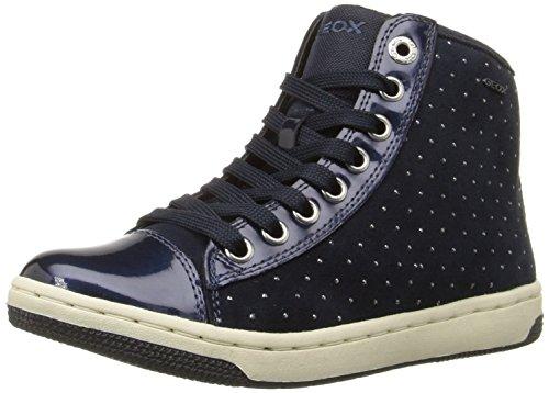 Geox Creamy A, Sneakers Hautes Fille Blau (NAVYC4002)
