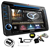 Kenwood DNX518VDABSKIM1 Navigationsgerät/Navi inkl. CAWKIMUN1 / CAWCKIMVW1 / CX-DAB1 für VW/SEAT/Skoda - Apple Carplay/Android Auto/Weblink / Hi.Res Audio/Bluetooth / Spotify/Dashcam-Link