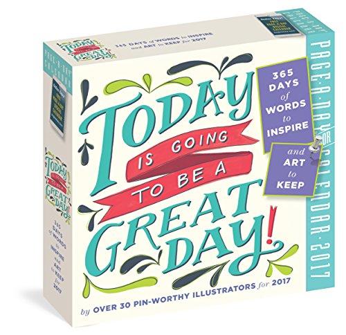 Today Is Going to Be a Great Day! por Workman Publishing