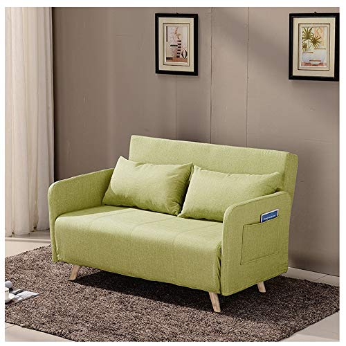LLF Multi-función Lazy Sofá de Doble Uso Sofá Cama Silla Lavable Plegable...
