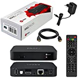 MAG 254 Original Infomir / HB-DIGITAL IPTV SET TOP BOX Streamer Multimedia Player Internet TV IP Receiver + HB Digital HDMI câble