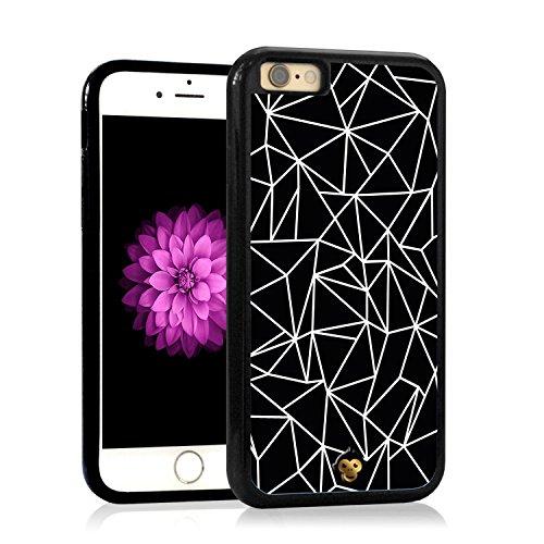 Monkey Cases® iPhone mosaïque Edition-Étui-Original-Lignes Géométrie
