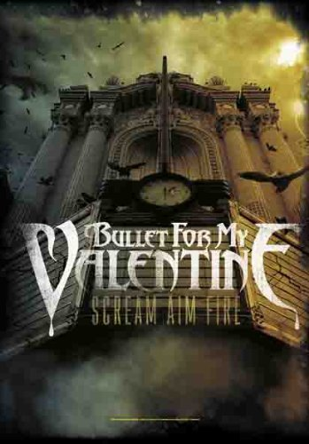 Empire merchandising Bullet for My Valentine poster bandiera Scream Aim Fire