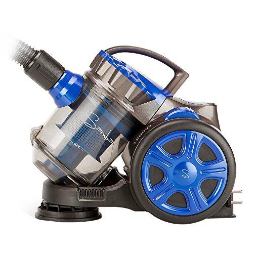 Novohogar Robot aspirador sin bolsa 700W apto para todo tipo de superficies con filtro multi-system
