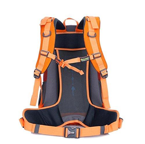 36-55L professionale borsa per il trasporto di alpinismo zaino indossare lacrima sacchetto maschio zaino da viaggio , orange Orange
