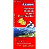 Germany, Benelux, Austria, Czech Republic National Map 719