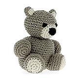 Hoooked Amigurumi Eco Barbante DIY-Häkelset Billy Bear (taupe)