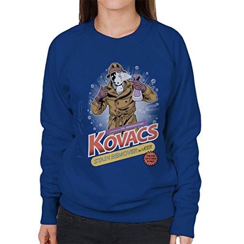 (Cloud City 7 Watchmen Rorschach Kovacs Stain Remover Women's Sweatshirt)