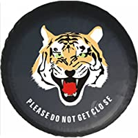 Funda de neumáticos para rueda de repuesto Tiger Animal, piel sintética, protector.