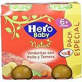 Hero Baby Verduras con Pollo y Ternera - 940 gr