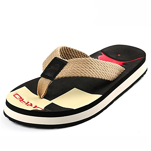 De Casual Sandalias Hombres Antideslizante Cómodo Zapatos Y Verano Talla Negro Zapatillas color Desgaste Playa De 44 Aluk La Lágrimas De g4g8q6r