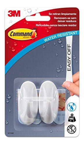 command-w17082-pack-de-2-ganchos-ovalados-pequenos-resistente-al-agua-color-blanco