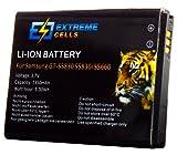 Extremecells® Akku für Samsung Ace Gio GT-S5830 S5830i S5660 wie EB494358VU Accu